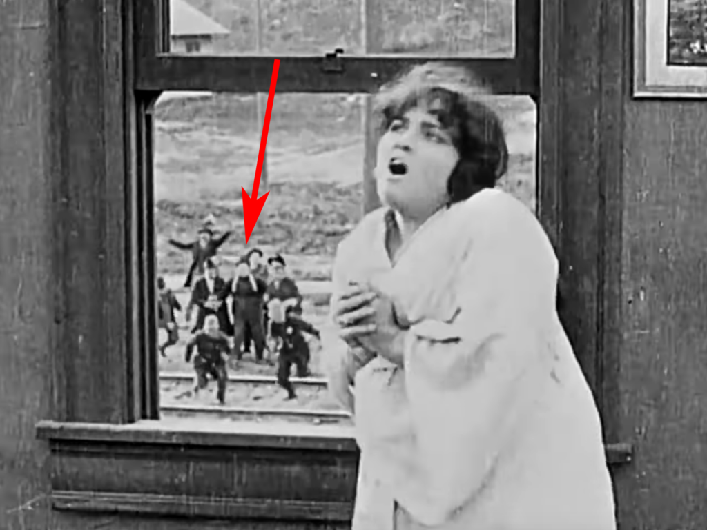 Roscoe Arbuckle Keystone Chaplin