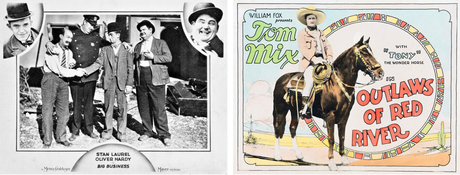 Ben Model silent film shows 2019