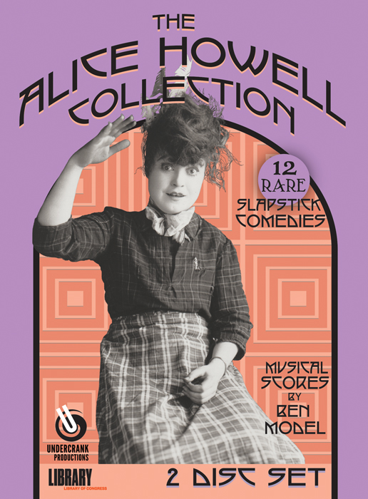 Alice Howell DVD cover