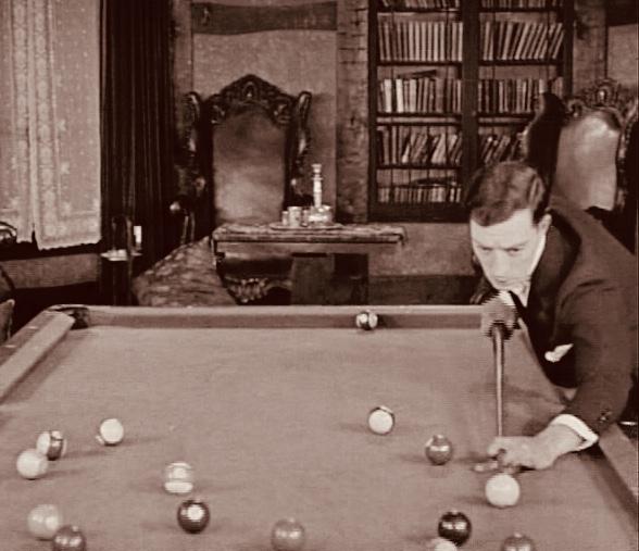 Sherlock Jr billiard