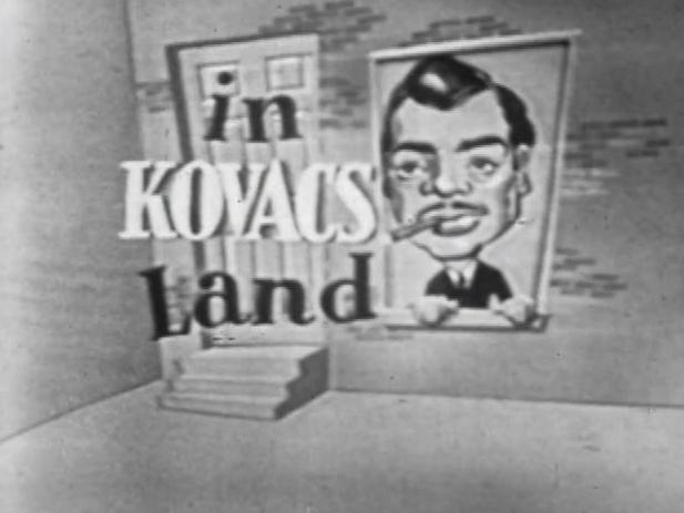 Ernie in Kovacsland opening title card