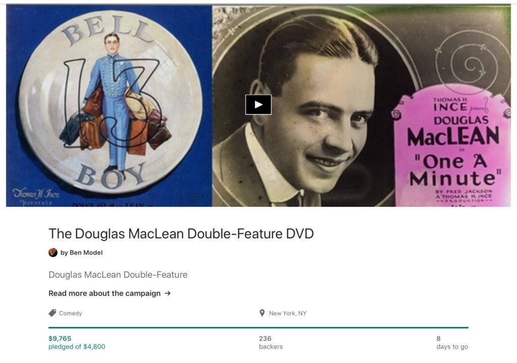 Douglas MacLean Kickstarter