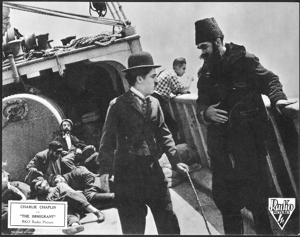 Charlie Chaplin Immigrant