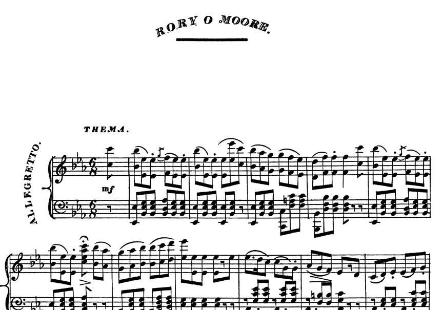 Rory O'Moore Irish folk song