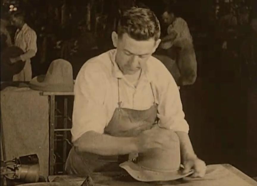 Stetson Hat film 1920