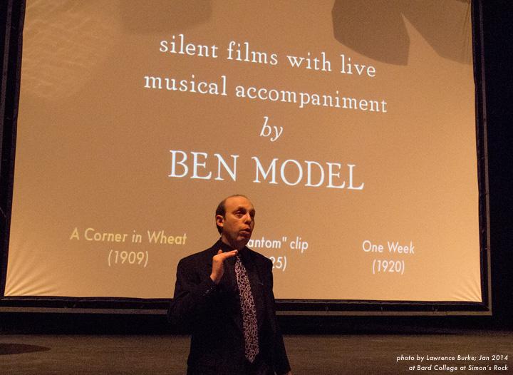 Ben Model silent film university lecture