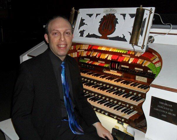 Ben Model Rome Capitol Möller theatre organ