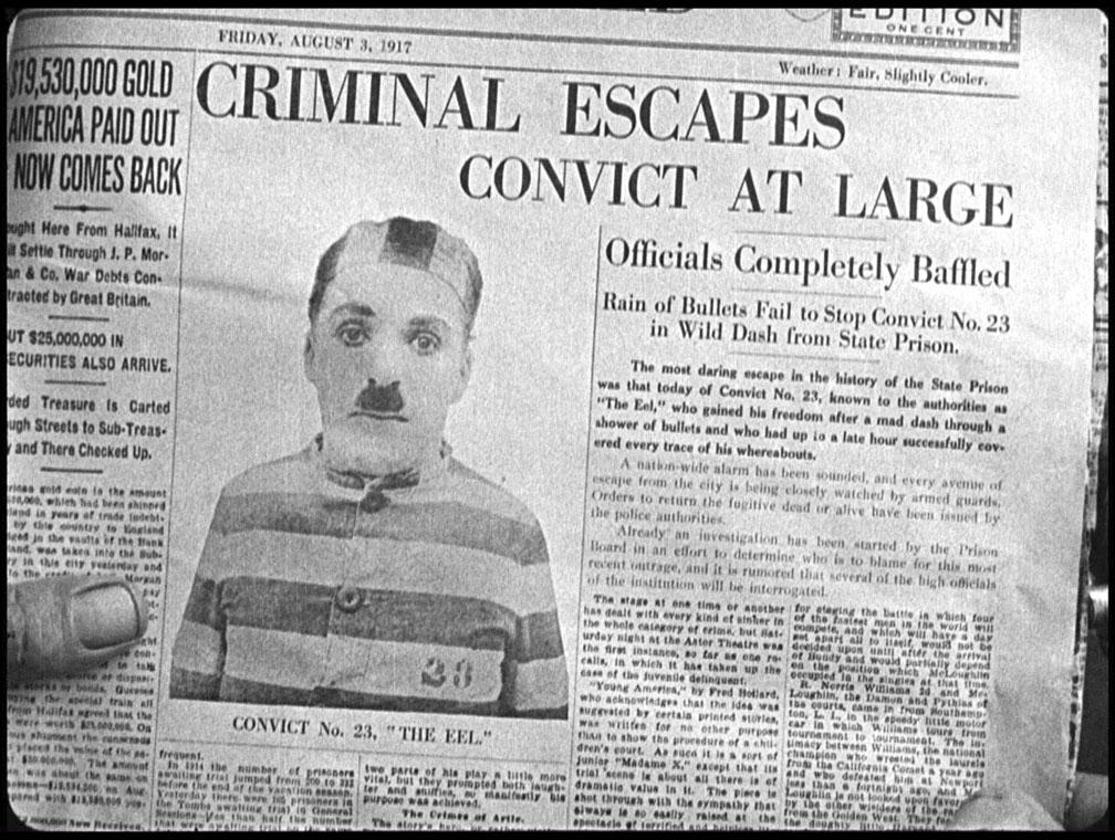 Charlie Chaplin The Adventurer Convict 23 Eeel