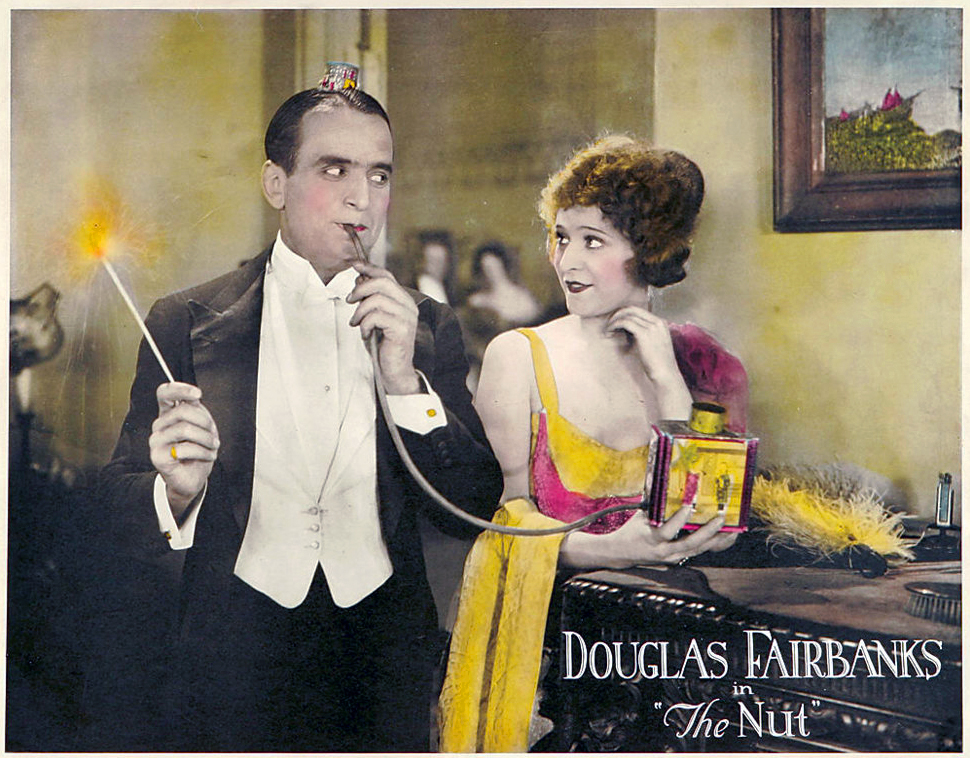 Douglas Fairbanks The Nut 1921