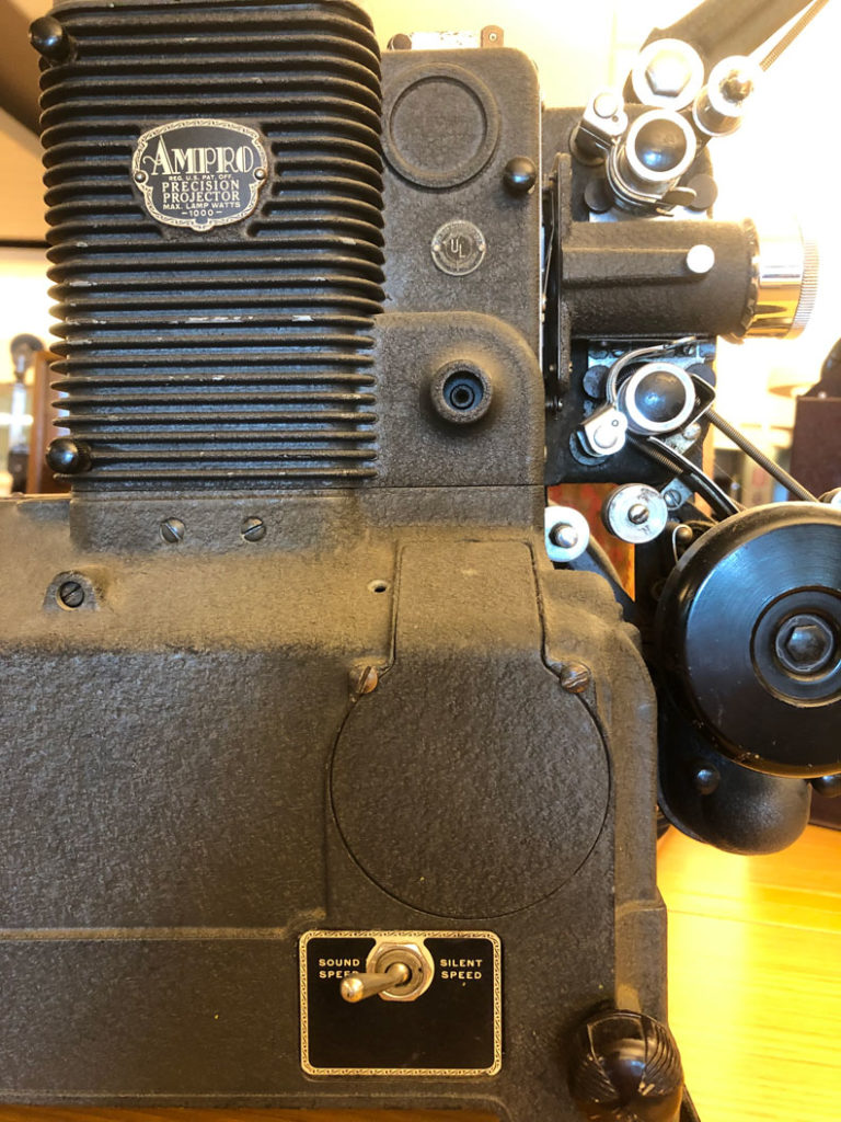 Ampro 16mm projector 1940s
