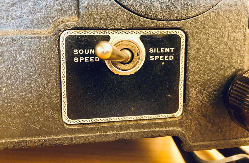 sound silent speed switch Ampro 16mm