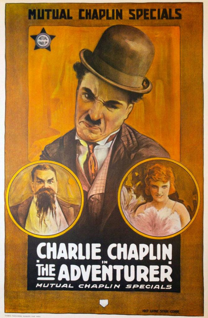 Charlie Chaplin Adventurer poster
