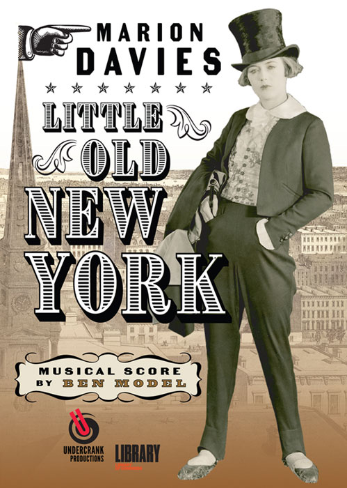 Marion Davies in Little Old New York DVD