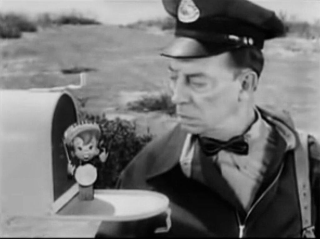 Buster Keaton postal worker