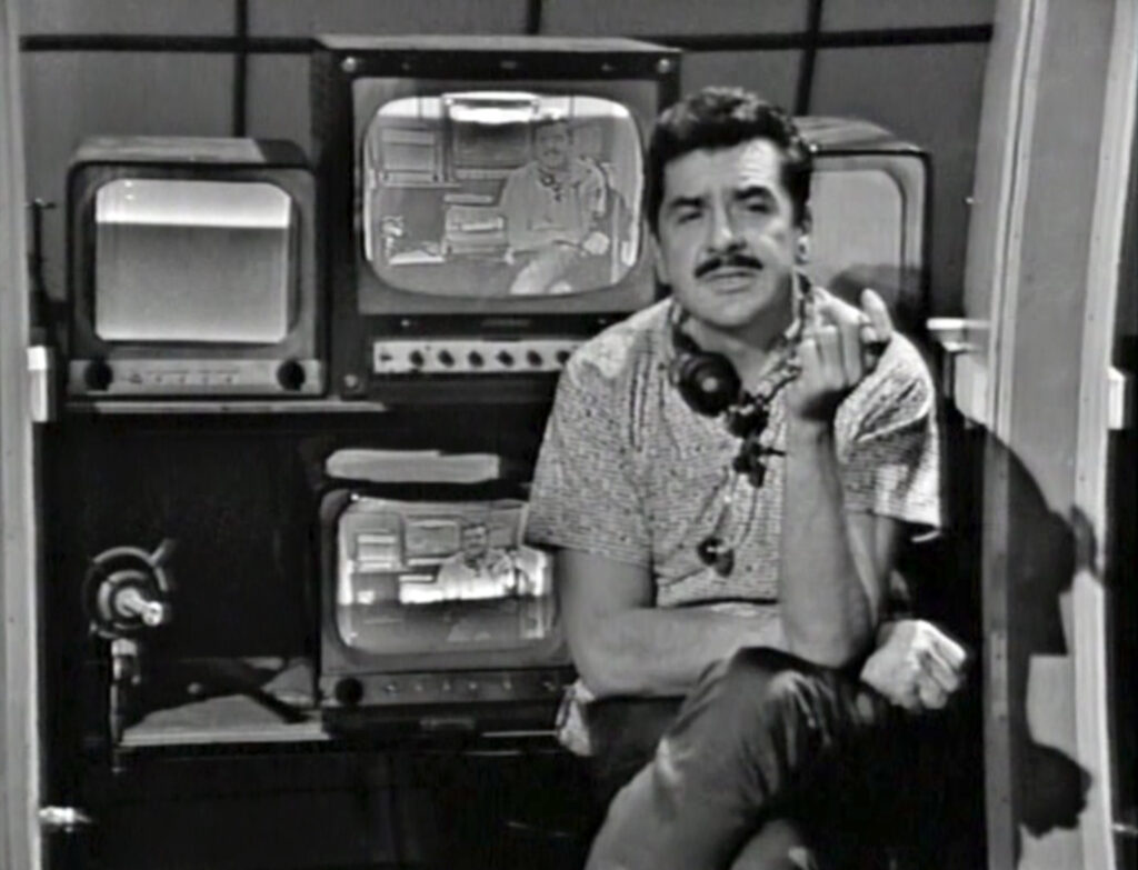 Ernie Kovacs ABC control room monitors