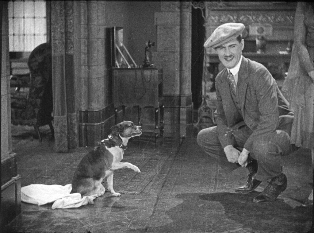 Charley Chase in DOG SHY