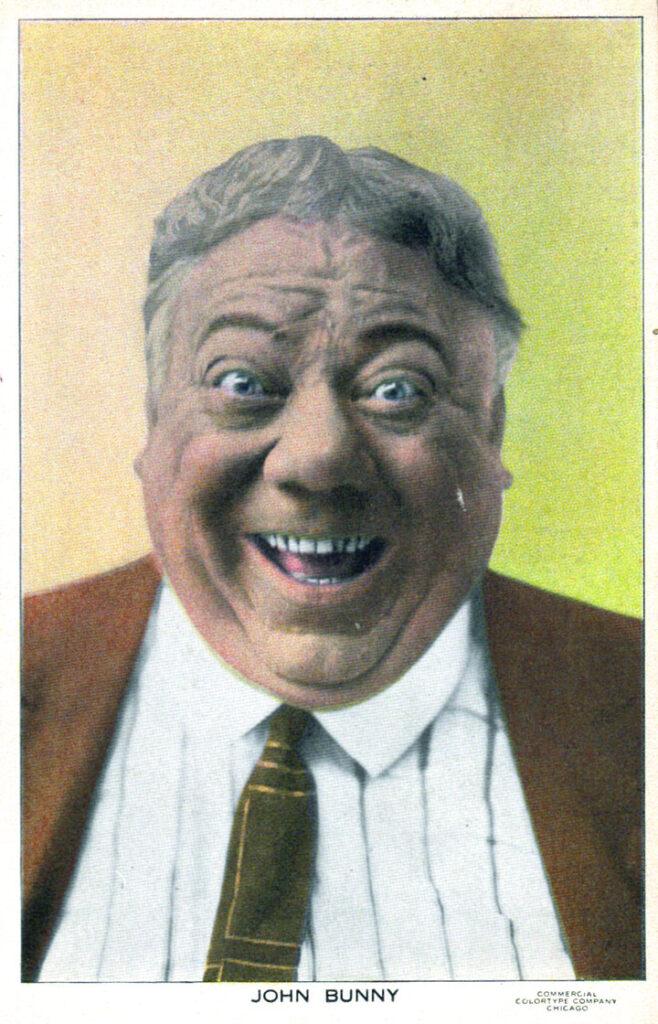 John Bunny personality postcard
