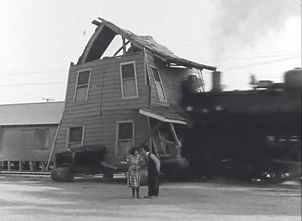 Buster Keaton One Week sonically oblivious